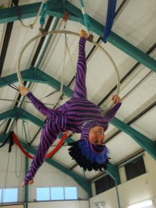 Aerial hoop-Dress rehearsal - Circus space