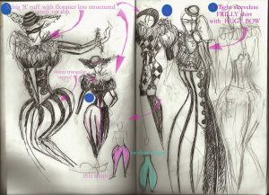 Circus shows Incandescence- costume designs