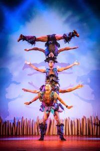 African circus show